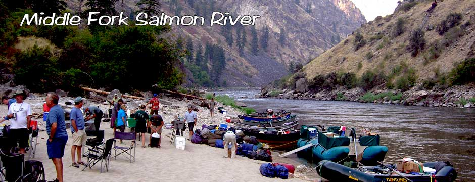 Jeff Helfrich Fly Fishing on the Middle Fork Salmon River