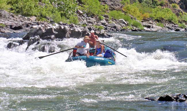 Jeff Helfrich Whitewater Rafting Rogue River Oregon