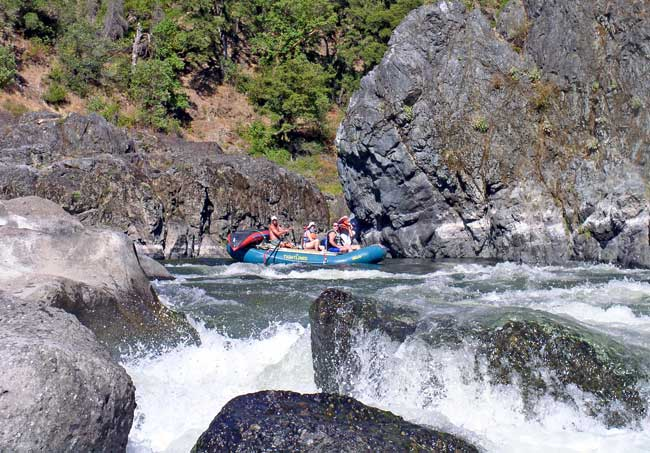 Jeff Helfrich Whitewater Rafting Blossom Bar Rogue River Oregon